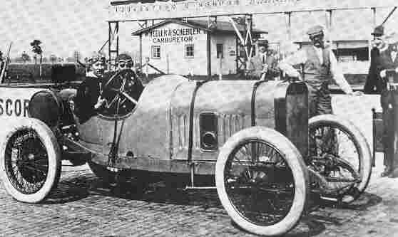 Жюль Гу на Peugeot L76 стал первым европейцем, одержавшим победу на старой кирпичнице (1913